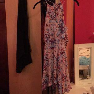 Size XS Parker silk sun dress
